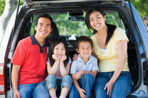 Driving Grab or Uber for the family