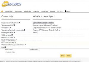 Z10 Convert Car Scheme