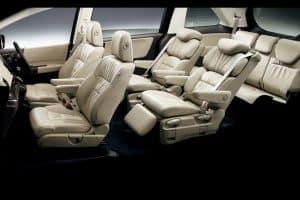 Big car spacious interior
